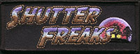 ShutterFreaks embroidered patch