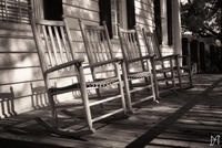 The Four Chairs bw