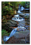 #6645 Coliseum Falls, White Mountains NH