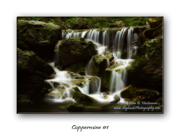 Coppermine #1 Waterfalls of Old Mine Road Gallery