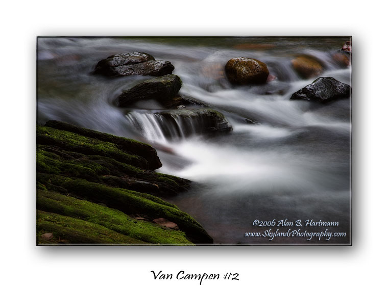 Van Campen #2 Waterfalls of Old Mine Road Gallery