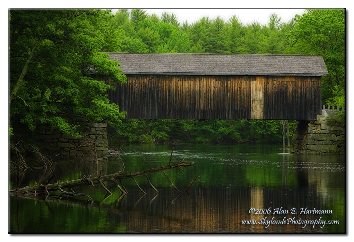 IA7X6795-A - Babb Covered Bridge, South Windham, ME Babb Covered Bridge Gallery