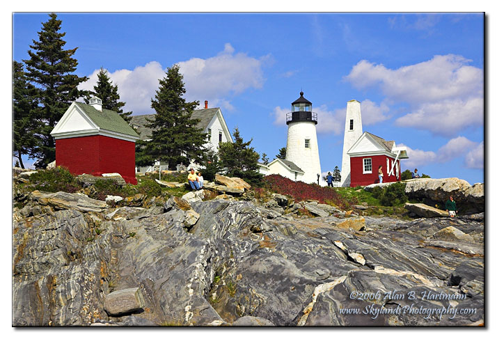 IA7X9420 - Pemaquid Point Light Maine Lighthouses Gallery