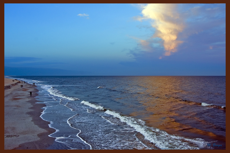 "St. Augustine Beach- on Stretched Canvas Giclée-Size 36""x24"" edition 250/250"