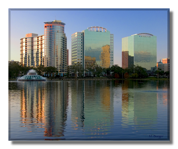 The City Beautiful, Lake Eola, Orlando, FL
