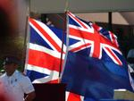 British & Cayman Flags
