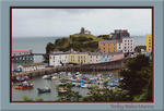 Tenby Wales Marina by the sea