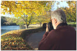 Ron Donson is getting the best out of fall colors at Furman Univ.