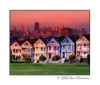 SteveZ Painted Ladies of San Francisco
