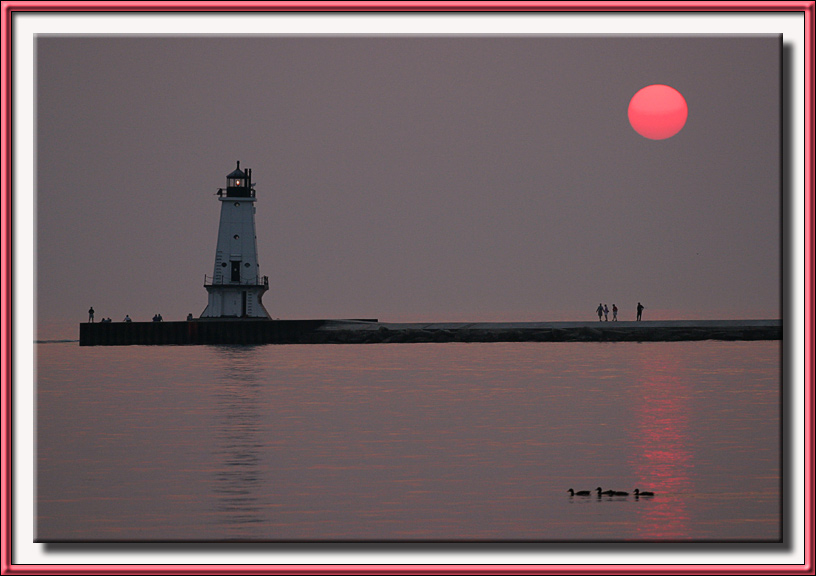 RickB - Ludington Harbor Lighthouse