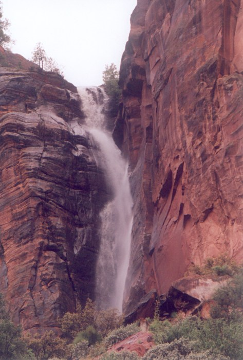 Waterfall, Zion National Park, Utah