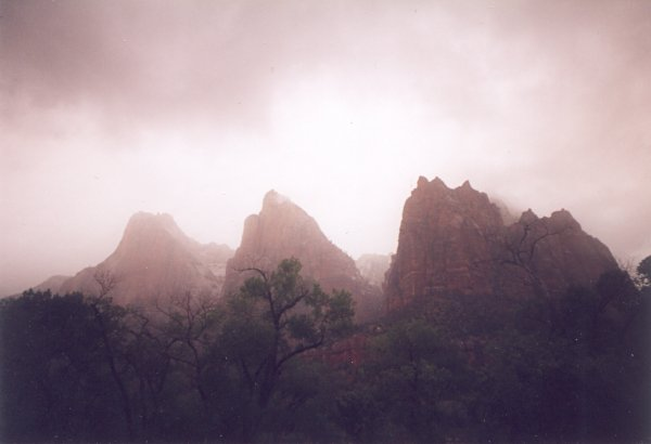 The Three Patriarchs - Zion National Park