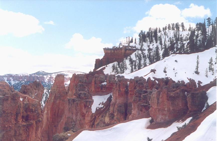 Cold Day in Bryce Canyon - Utah
