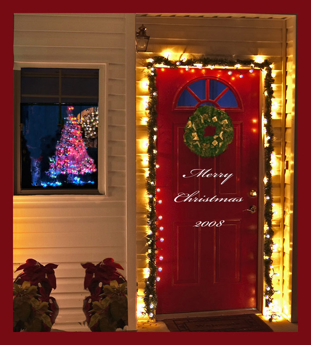Door Decorations Christmas Contest: Ideas Christmas Decorating