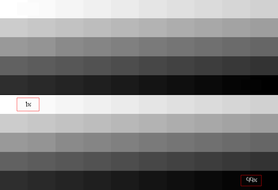 Gray Scale Chart (ProPhotoRGB for Photoshop Viewing Only)