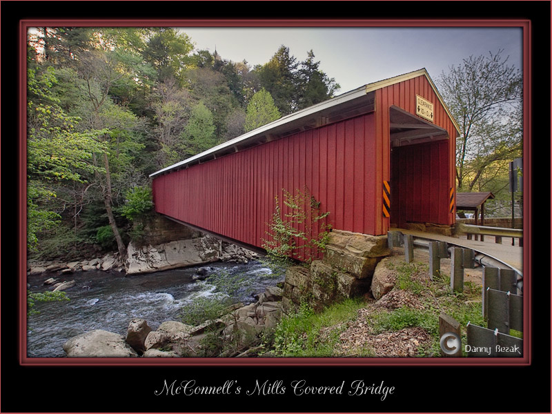 McConnells Mills Covered Bridge