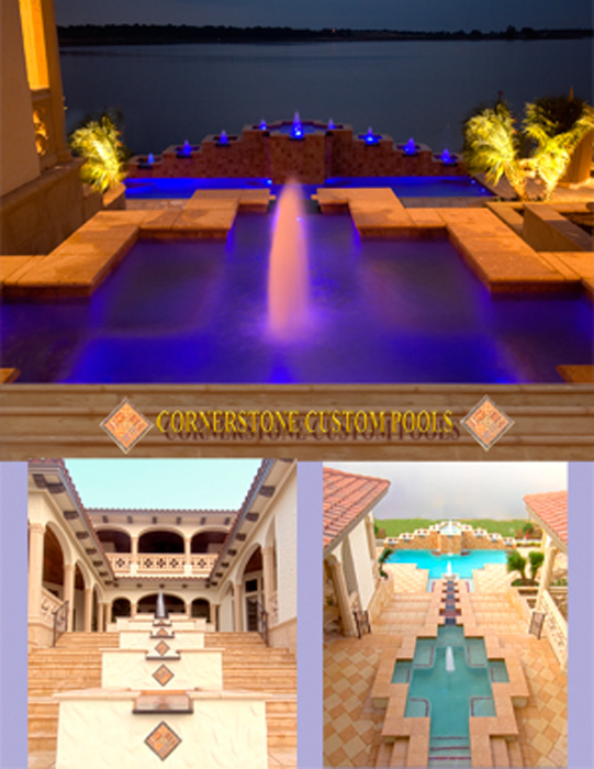 Cornerstone Custom Pools - Street of Dreams - Mountverde, FL