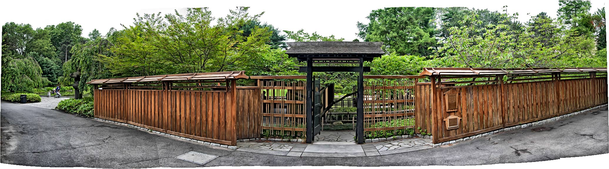 Delicieux Japanese Garden Gate Pano