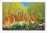 Chihuly Glass work 3,2