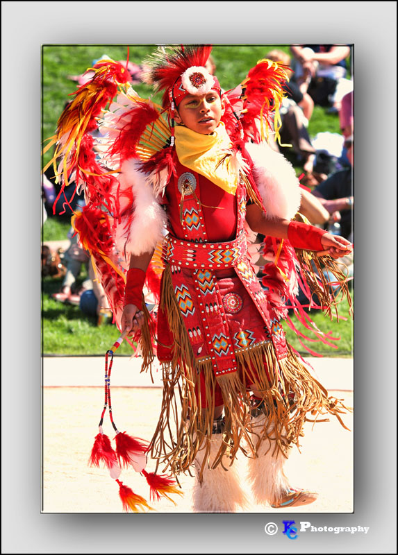 Boy Indain Dancer