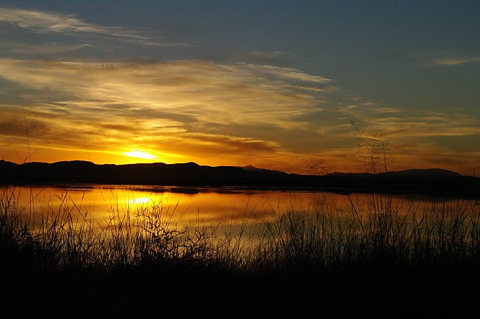 Sunset at Cochise Lake