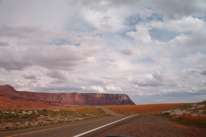 Road to Vermilion Cliffs